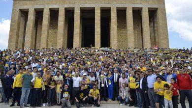 Photo of Şampiyonluk Kupamızı Anıtkabir'e Götürdük