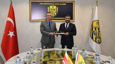 Photo of Otonomi Yönetim Kurulu Başkanı Sayın Aydın Erkoç'tan hayırlı olsun ziyareti