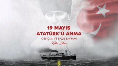 Photo of 19 Mayıs Atatürk'ü Anma Gençlik ve Spor Bayramı kutlu olsun