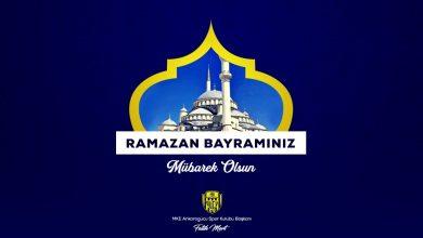 Photo of Başkanımız Fatih Mert'ten, Ramazan Bayramı mesajı