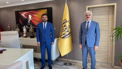 Photo of Sivil Toplumla İlişkiler Genel Müdürü Sayın Erkan Kılıç'tan Kulübümüze Ziyaret