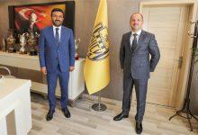 Photo of MKE Kurumu Genel Müdürü Sayın Yasin Akdere kulübümüzü ziyaret etti