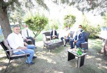 Photo of Ankara Milletvekili Sayın Ali İhsan (Mücahit) Arslan'dan kulübümüze ziyaret