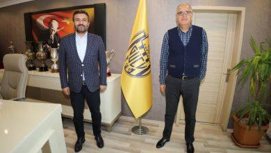 Photo of Türkiye Voleybol Federasyonu Başkanı Sayın Mehmet Akif Üstündağ kulübümüzü ziyaret etti |
