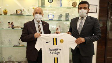 Photo of Başkanımız Fatih Mert, Yenimahalle Belediye Başkanı Sayın Fethi Yaşar'ı ziyaret etti
