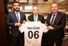 Photo of Başkanımız Fatih Mert, TFF Başkanı Nihat Özdemir'i  Ziyaret Etti