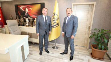 Photo of Ankara İl Emniyet Müdürü Sayın Servet Yılmaz'dan Kulübümüze Ziyaret