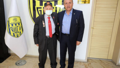 Photo of Kulüp Efsanemiz Arslan Gürsoy'dan Kulübümüze Ziyaret