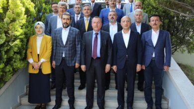 Photo of Başkanımız Faruk Koca'ya Ak Parti Ankara Milletvekili, İl Başkanı ve Ankara İlçe Belediye Başkanlarından Ziyaret