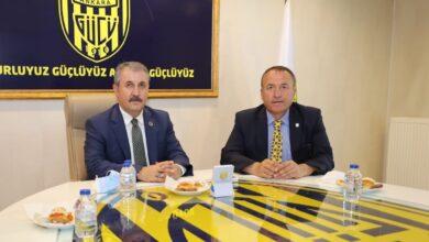 Photo of BBP Genel Başkanı Sayın Mustafa Destici'den Kulübümüze Ziyaret