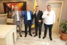 Photo of Boks Federasyonu Başkanı Sayın Eyüp Gözgeç'ten Kulübümüze Ziyaret