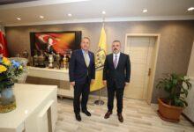 Photo of Sincan Belediye Başkanı Sayın Murat Ercan'dan Kulübümüze Ziyaret