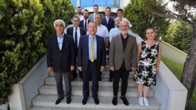 Photo of TSYD Ankara Şubesi Başkanı Sayın Ercan Ata'dan Kulübümüze Ziyaret