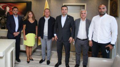 Photo of Başkanımız Faruk Koca'ya İYİ Parti'den ziyaret