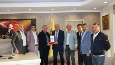 Photo of Başkanımız Sn. Faruk Koca'ya ATESAN Yönetim Kurulundan Ziyaret
