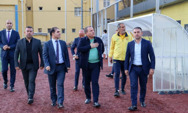Photo of Başkanımız Faruk Koca ve Yönetim Kurulumuz, Tandoğan Tesislerimizi Ziyaret Etti